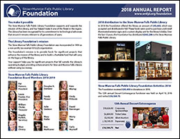 Library Foundation 2018 Annual Report