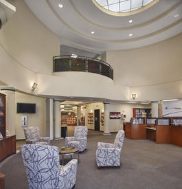 Library Interior - front lobby rotunda