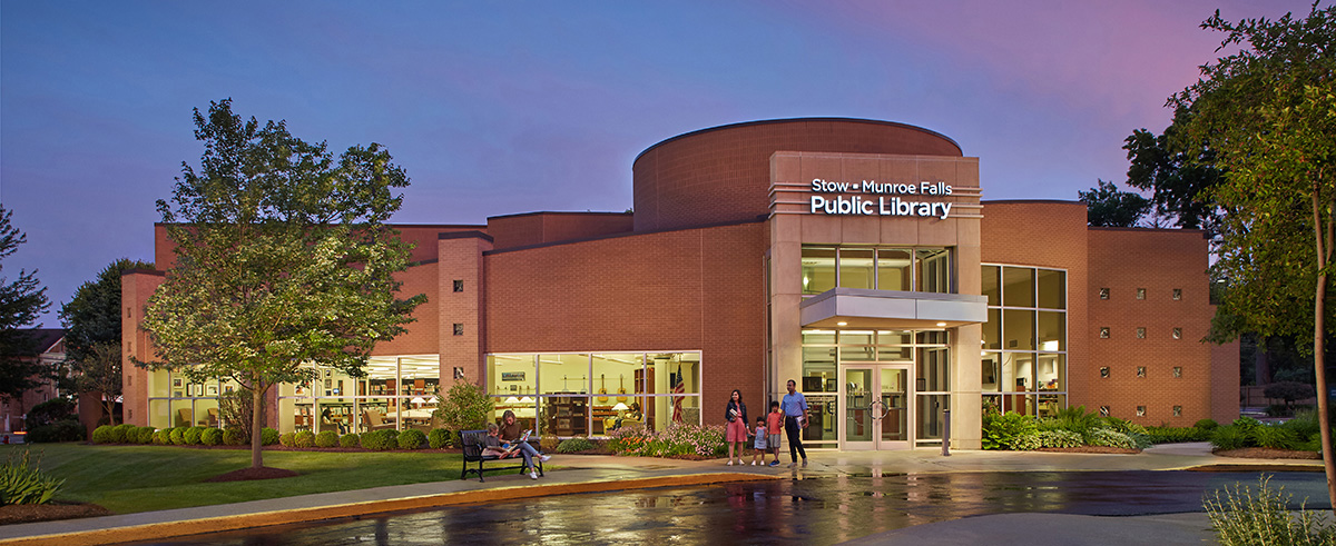 Stow-Munroe Falls Public Library Exterior -- north face