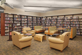 Library Interior - Teen Area