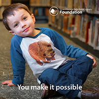 Library Foundation Brochure Cover